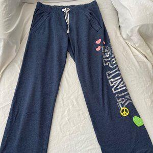 PINK Victoria's Secret Blue Sweatpants (Size XS)